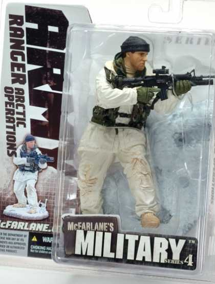Action Figure Boxes - Army Ranger Arctic Operations