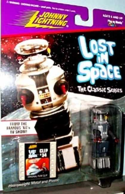 Action Figure Boxes - Lost in Space Robot