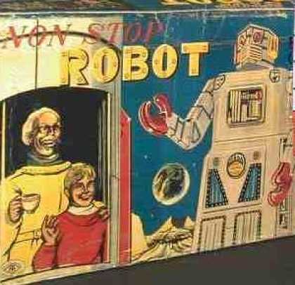 Action Figure Boxes - Non Stop Robot