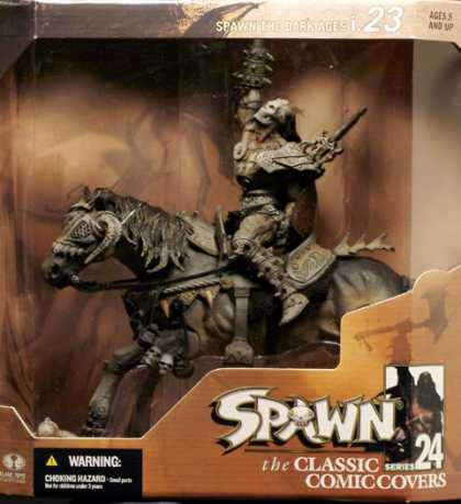 Action Figure Boxes - Spawn Classic Comic Covers