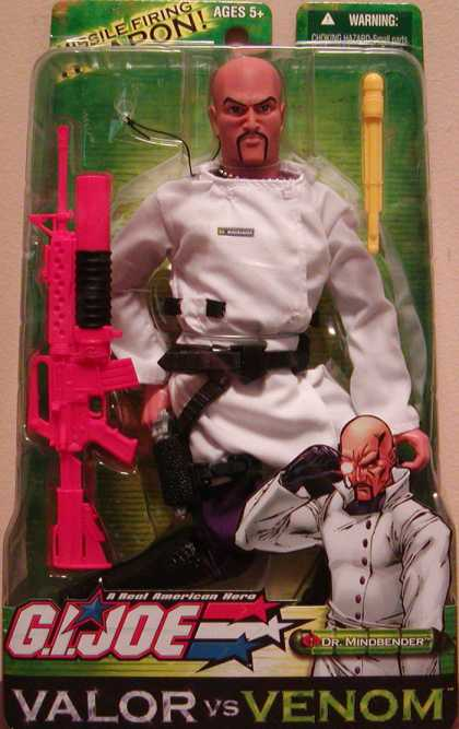 Action Figure Boxes - G.I. Joe: Dr. Mindbender