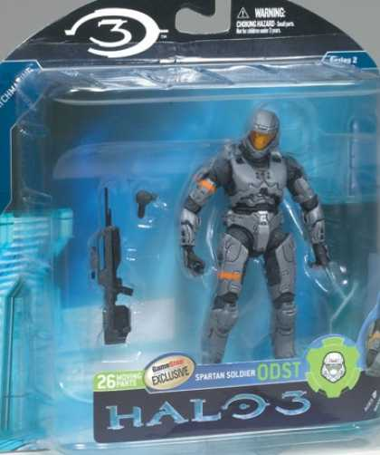 Action Figure Boxes - Halo 3 Spartan Soldier ODST