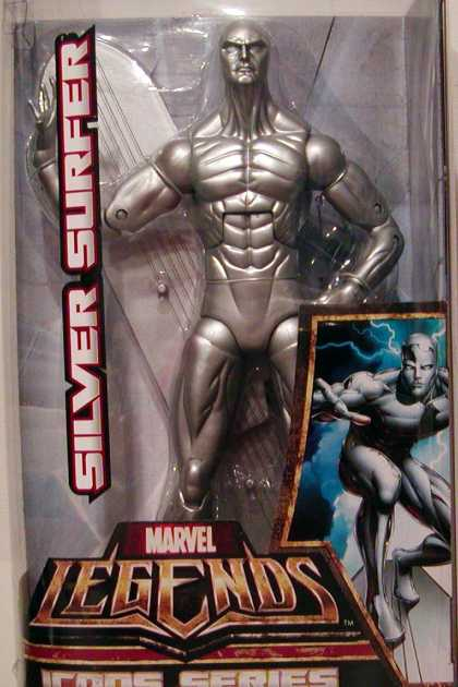 Action Figure Boxes - Silver Surfer