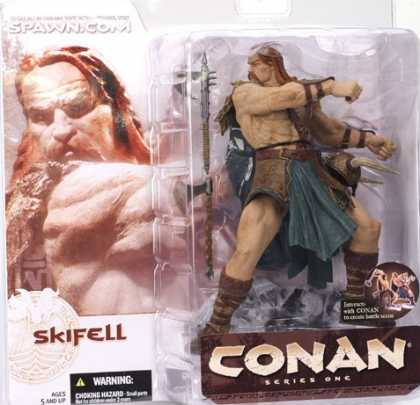 Action Figure Boxes - Conan: Skifell