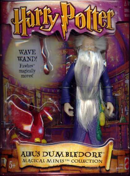 Action Figure Boxes - Harry Potter: Albus Dumbledore