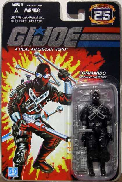 Action Figure Boxes - G.I. Joe: Commando Snake Eyes