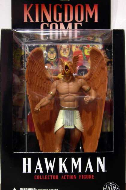 Action Figure Boxes - Kingdom Come Hawkman