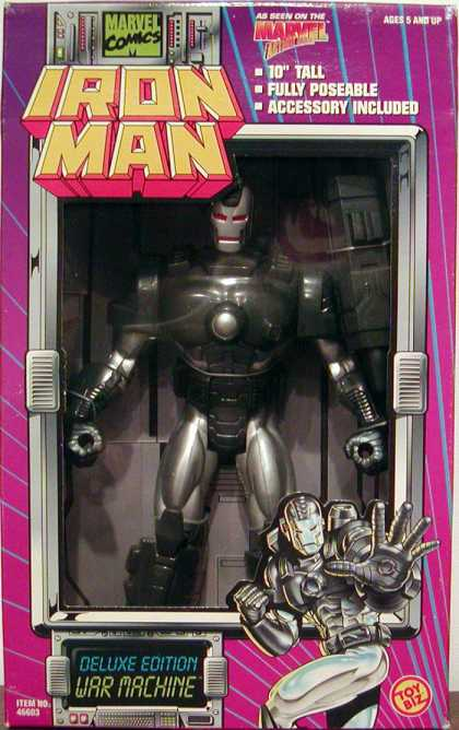 Action Figure Boxes - Iron Man Deluxe Edition War Machine