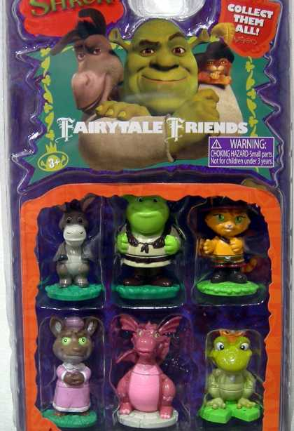 Action Figure Boxes - Shrek Fairytale Friends