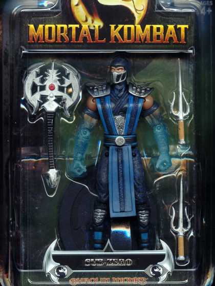 Action Figure Boxes - Mortal Kombat: Sub Zero