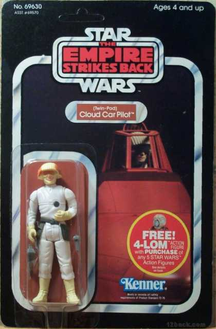 Action Figure Boxes - Star Wars: Cloud Car Pilot
