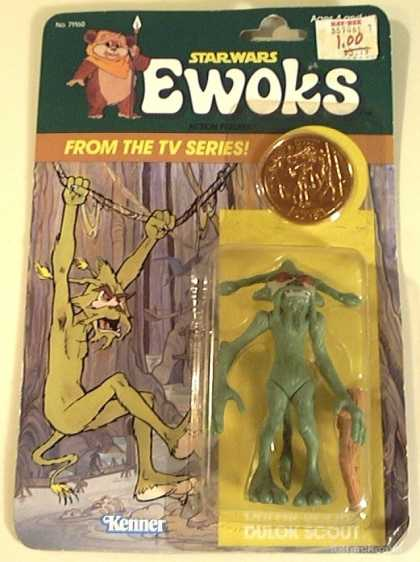 Action Figure Boxes - Star Wars Ewoks
