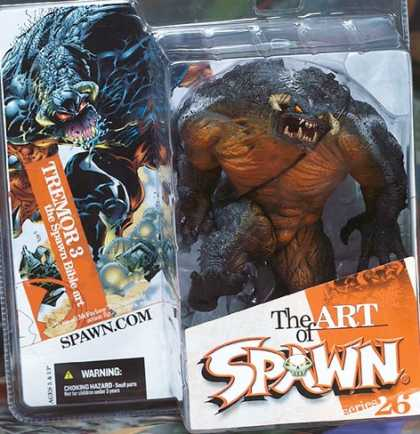 Action Figure Boxes - Art of Spawn: Tremor 3