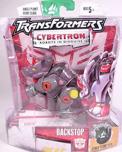 Action Figure Boxes - Transformers Cybertron Backstop