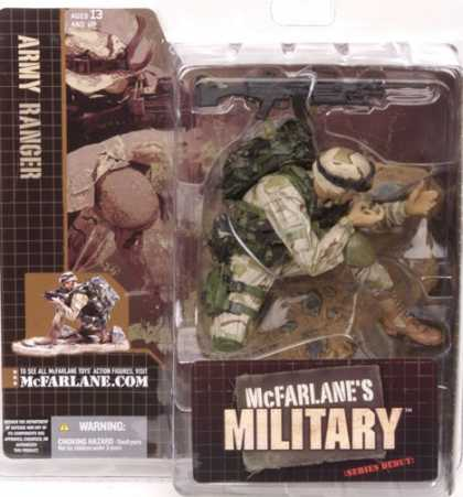 Action Figure Boxes - Army Ranger