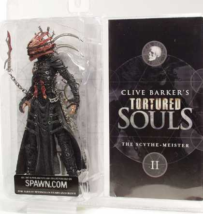 Action Figure Boxes - Clive Barker: Scythe-Meister