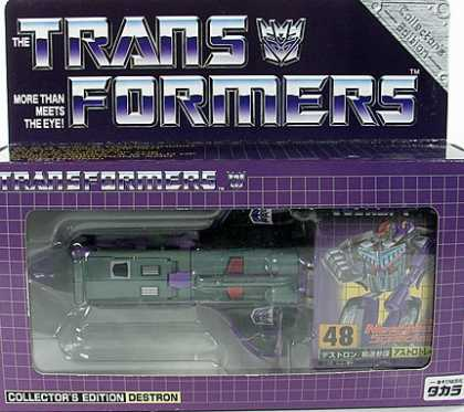 Action Figure Boxes - Transformers Destron