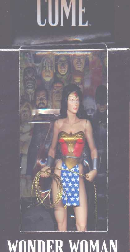 Action Figure Boxes - Wonder Woman