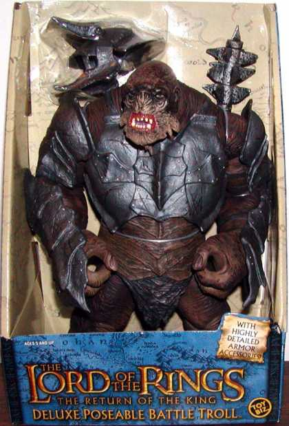 Action Figure Boxes - Lord of the Rings. Battle Troll