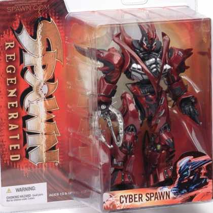 Action Figure Boxes - Cyber Spawn