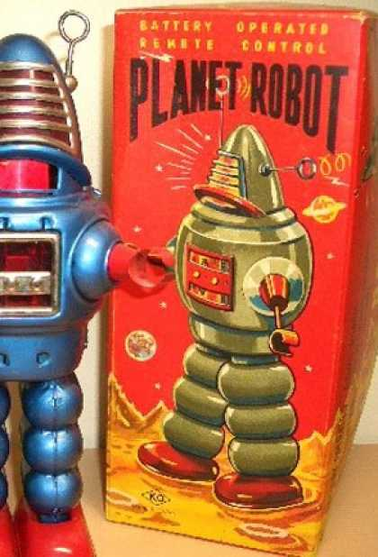 Action Figure Boxes - Planet Robot