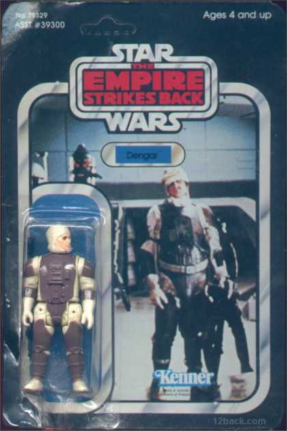 Action Figure Boxes - Star Wars: Dengar