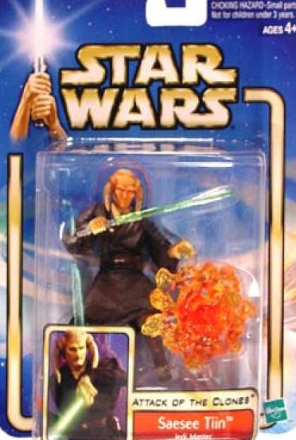 Action Figure Boxes - Star Wars: Saesee Tiin