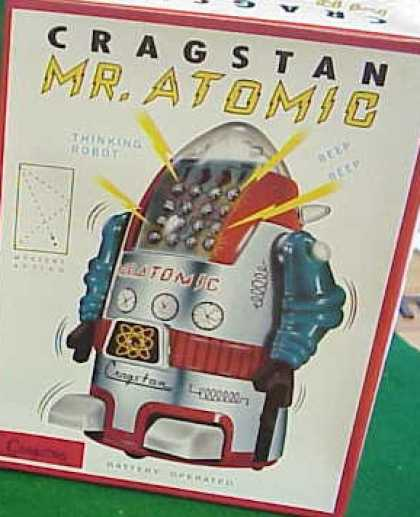 Action Figure Boxes - Crastan Mr. Atomic