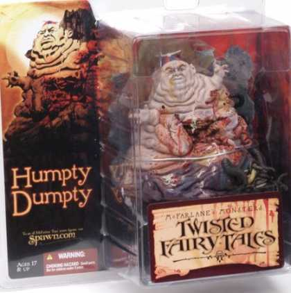 Action Figure Boxes - Twisted Fairy-Tales: Humpty Dumpty