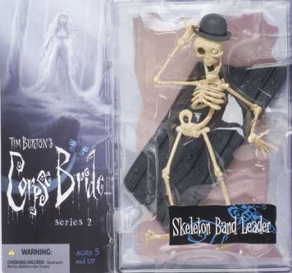 Action Figure Boxes - Tim Burton's Corpse Bride: Skeleton Band Leader