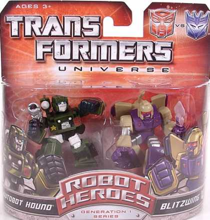 Action Figure Boxes - Transformers Robot Heroes