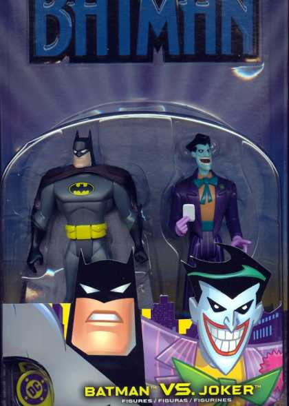 Action Figure Boxes - Batman vs Joker