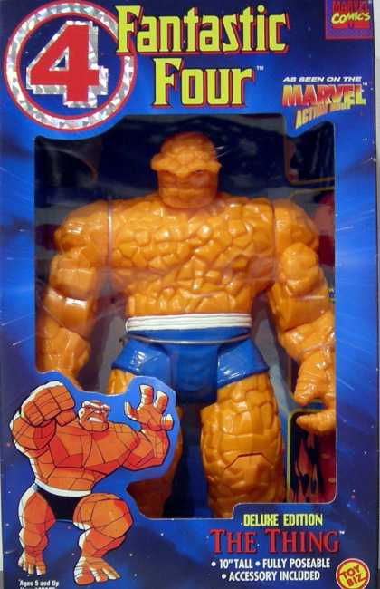 Action Figure Boxes - Fantastic Four: The Thing Deluxe Edition