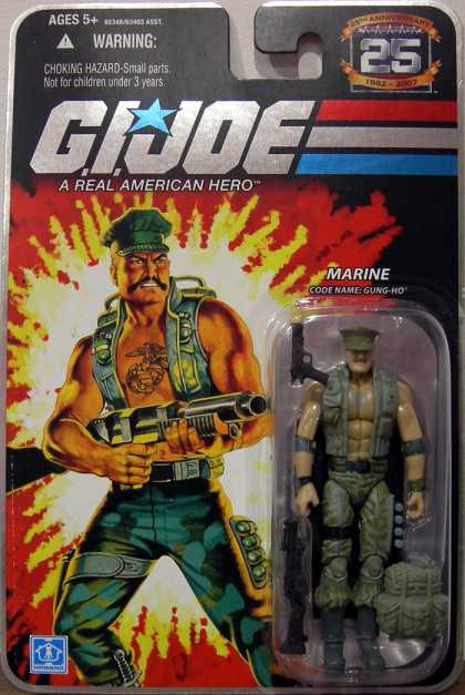 Action Figure Boxes - G.I. Joe: Marine Gung-Ho