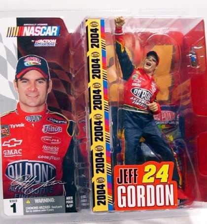 Action Figure Boxes - Nascar: Jeff Gordon