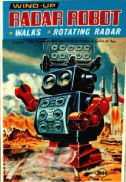 Action Figure Boxes - Radar Robot