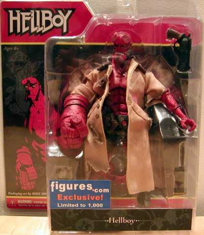 Action Figure Boxes - Hellboy