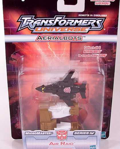 Action Figure Boxes - Transformers Air Raid