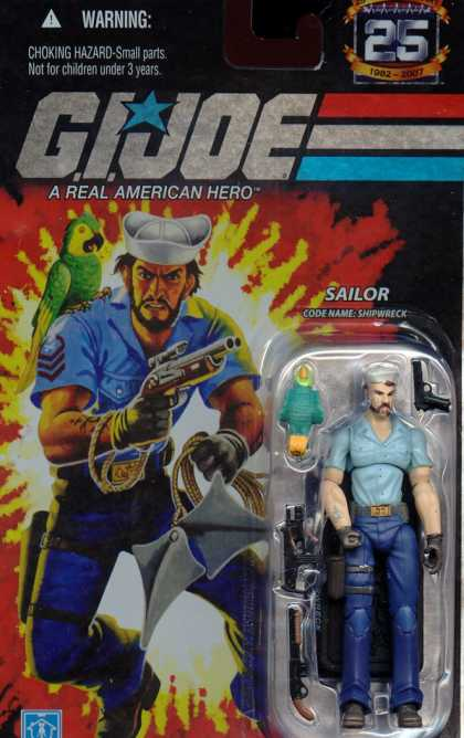 Action Figure Boxes - G.I. Joe Sailor