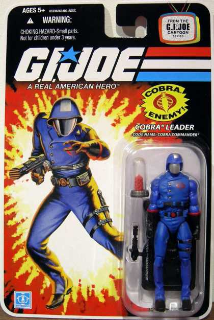 Action Figure Boxes - G.I. Joe: Cobra Leader