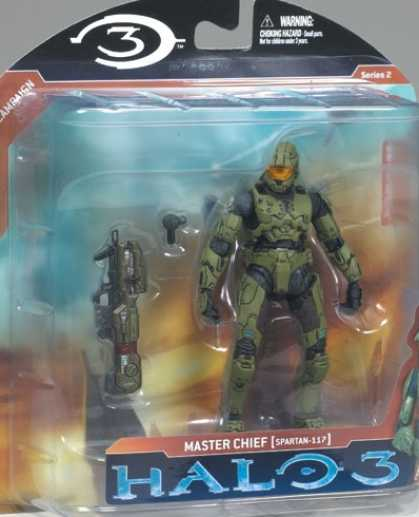 Action Figure Boxes - Halo 3 Master Chief