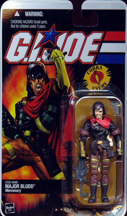 Action Figure Boxes - G.I. Joe Major Bludd