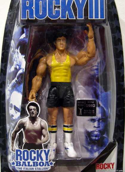 Action Figure Boxes - Rocky III: Rocky Balboa