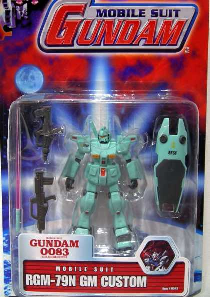 Action Figure Boxes - Mobile Suit Gundam RGM-79N GM Custom