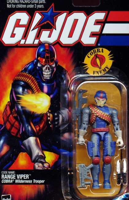 Action Figure Boxes - G.I. Joe Range Viper
