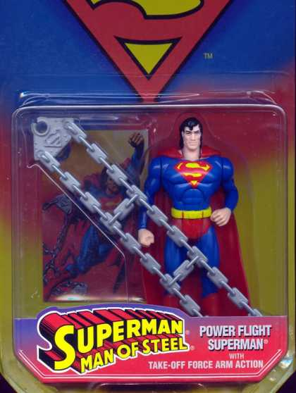 Action Figure Boxes - Power Flight Superman