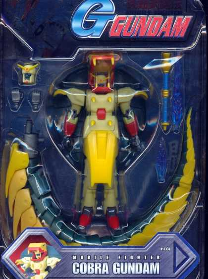 Action Figure Boxes - Mobile Figthter Cobra Gundam