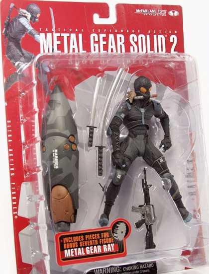 Action Figure Boxes - Metal Gear Solid 2