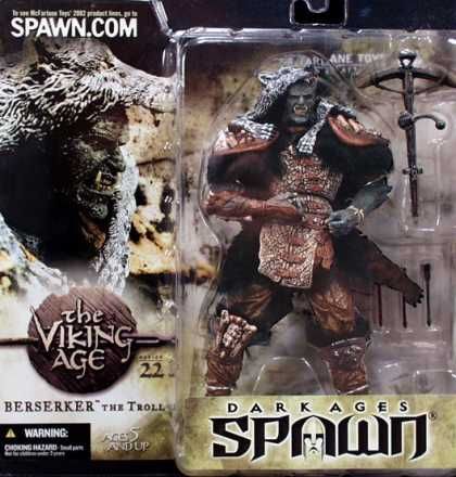 Action Figure Boxes - Dark Ages Spawn: Berserker the Troll