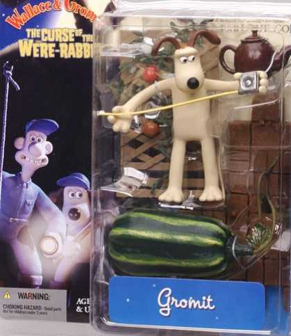 Action Figure Boxes - Gromit